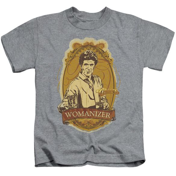 Cheers Womanizer Short Sleeve Juvenile Athletic Heather T-Shirt