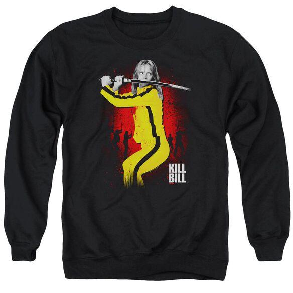 Kill Bill Surrounded Adult Crewneck Sweatshirt