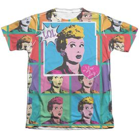 I LOVE LUCY LOL-ADULT POLY/COTTON T-Shirt