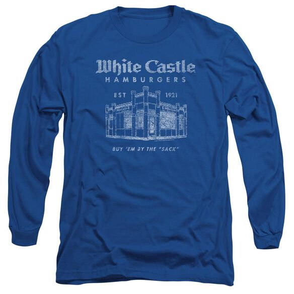WHITE CASTLE BY THE SACK-L/S ADULT T-Shirt