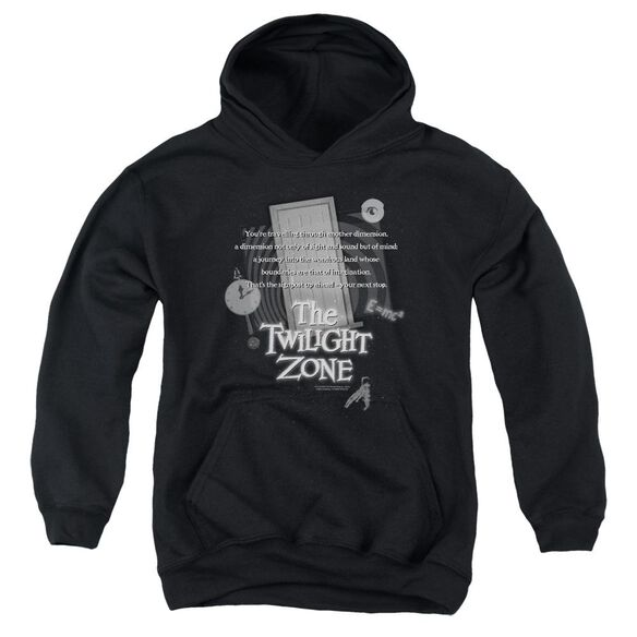 Twilight Zone Monologue Youth Pull Over Hoodie