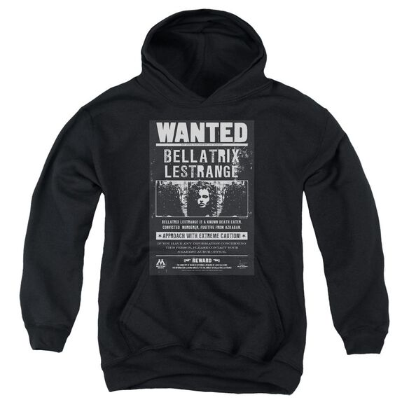 Harry Potter Wanted Bellatrix Youth Pull Over Hoodie
