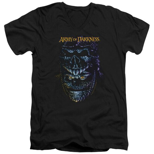 Army Of Darkness Evil Ash Short Sleeve Adult V Neck T-Shirt