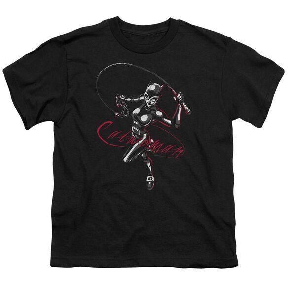 Batman Kitten With A Whip Short Sleeve Youth T-Shirt