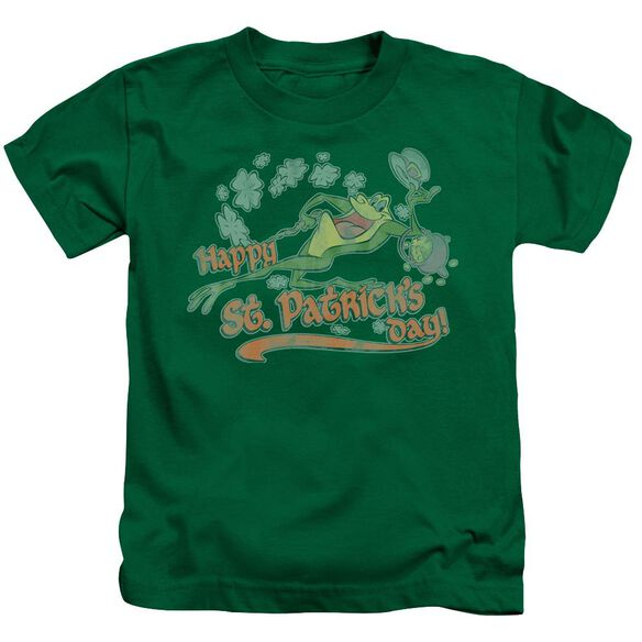 Looney Tunes Michigan J Short Sleeve Juvenile Kelly Green T-Shirt