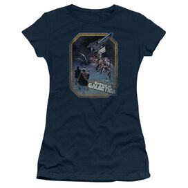 Bsg Poster Iron On Short Sleeve Junior Sheer T-Shirt
