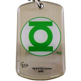 Green Lantern Logo Dog Tag