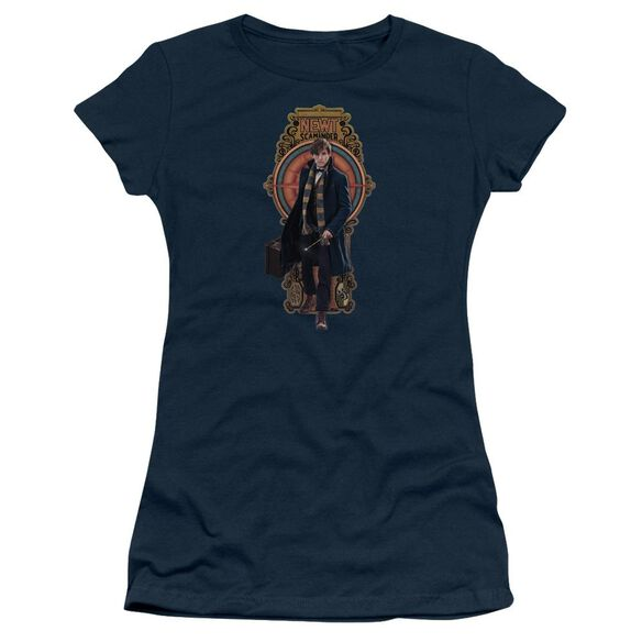 Fantastic Beasts Newt Scamander Short Sleeve Junior Sheer T-Shirt