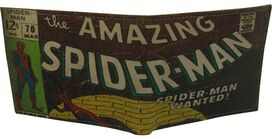 Spiderman Title Bi-Fold Leather Wallet