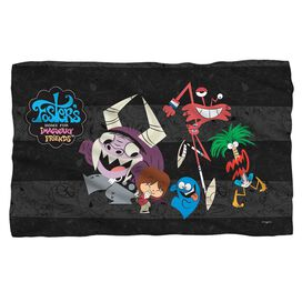 Fosters Friends Fleece Blanket