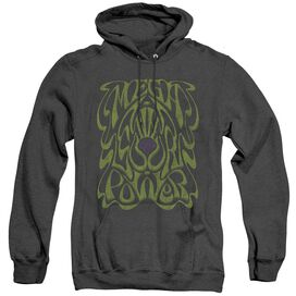 WARHEAD OUR POWER - ADULT HEATHER HOODIE - BLACK T-Shirt