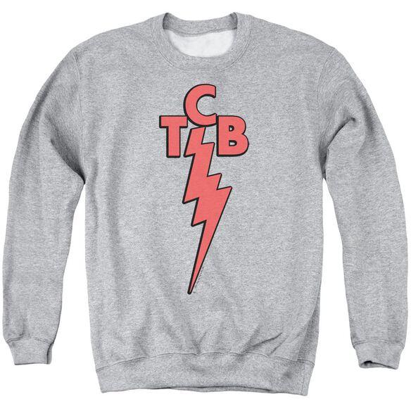 Elvis Tcb Adult Crewneck Sweatshirt Athletic