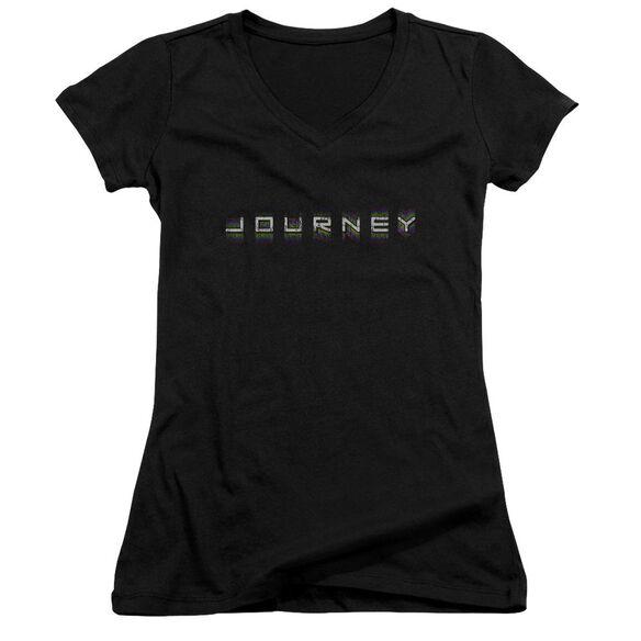 Journey Repeat Logo Junior V Neck T-Shirt