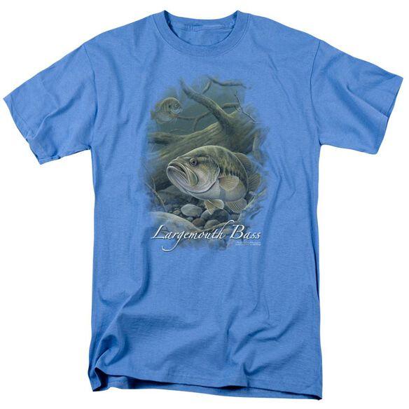 Wildlife In Deep Short Sleeve Adult Slate T-Shirt