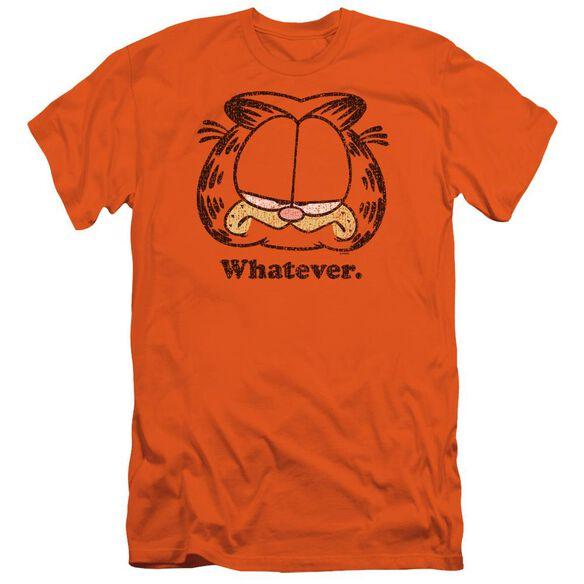 Garfield Whatever Short Sleeve Adult T-Shirt