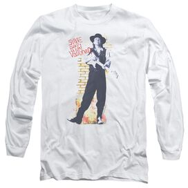 Stevie Ray Vaughan Standing Tall Long Sleeve Adult T-Shirt