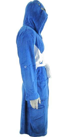 Power Rangers Blue Ranger Mesh Masked Hooded Robe
