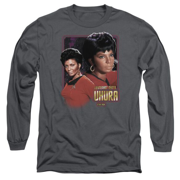 Star Trek Lieutenant Uhura Long Sleeve Adult T-Shirt