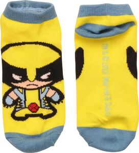 X Men Wolverine Kawaii Low Cut Socks
