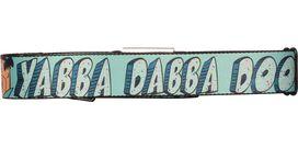 Flintstones Fred Yabba Dabba Doo Lt Blue Seatbelt Mesh Belt