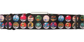 Pokemon Many Pokeball Kinds Seatbelt Belt