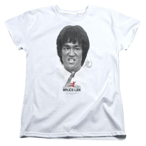 Bruce Lee Self Help Short Sleeve Womens Tee T-Shirt