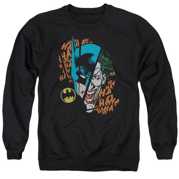 Dc Broken Visage Adult Crewneck Sweatshirt