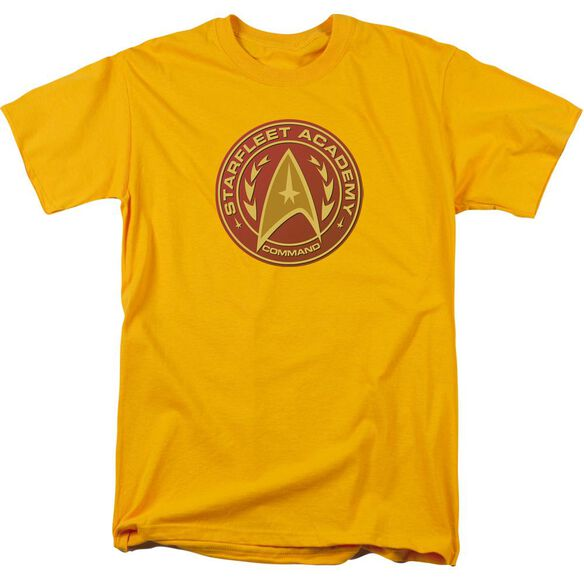 Star Trek Command Short Sleeve Adult Gold T-Shirt