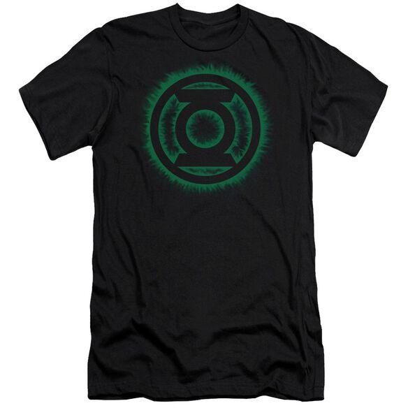 Green Lantern Green Flame Logo Short Sleeve Adult T-Shirt