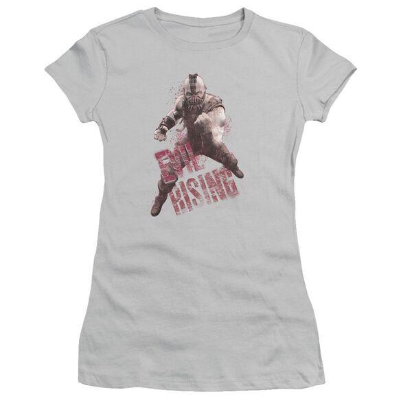 Dark Knight Rises Bane Rising Short Sleeve Junior Sheer T-Shirt