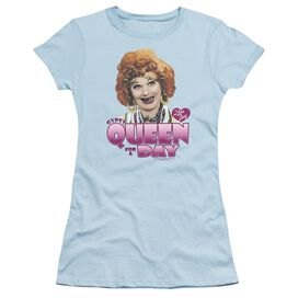 I Love Lucy Gypsy Queen Short Sleeve Junior Sheer Light T-Shirt