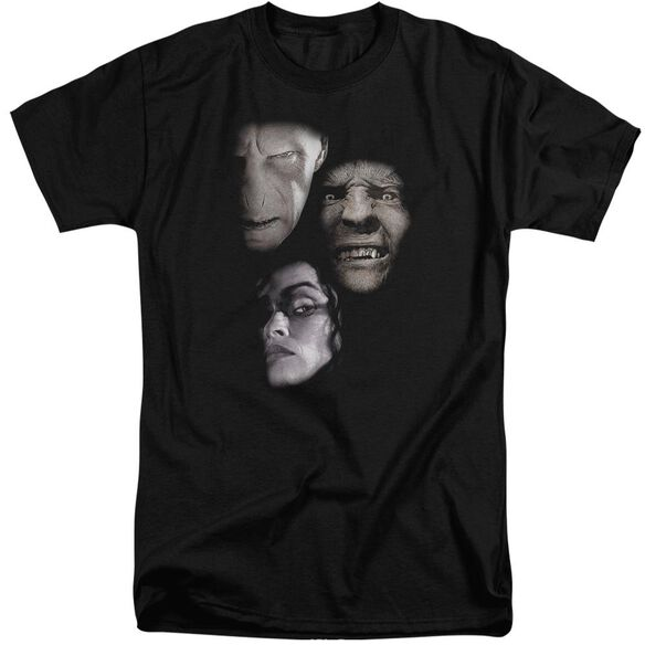 Harry Potter Villian Heads Short Sleeve Adult Tall T-Shirt