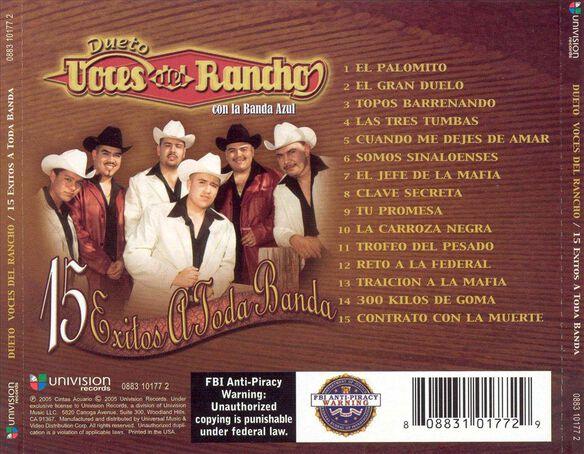 15 Exitos A Toda Band0605