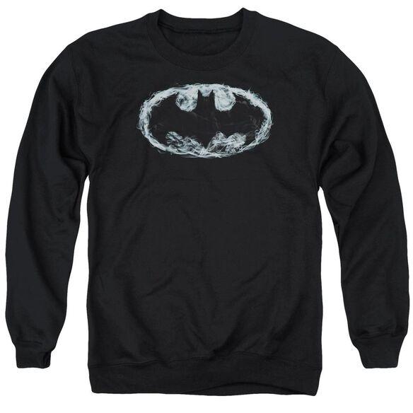 Batman Smoke Signal - Adult Crewneck Sweatshirt - Black