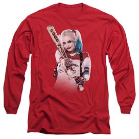 Suicide Squad Bat At You Long Sleeve Adult T-Shirt