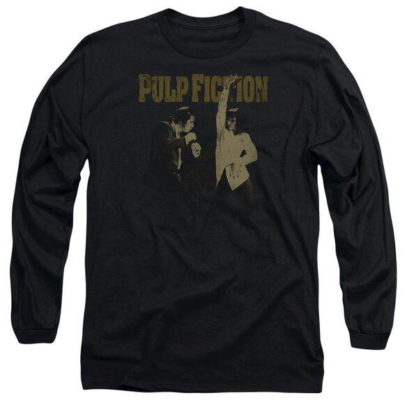 Pulp Fiction I Wanna Dance Long Sleeve Adult T-Shirt