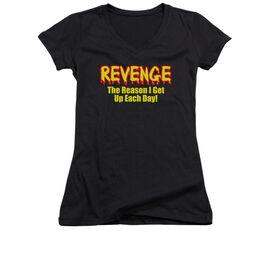 Revenge Junior V Neck T-Shirt