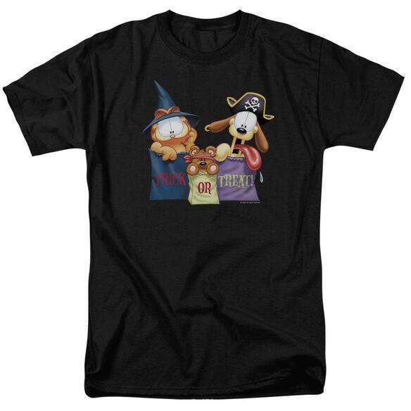 Garfield Grab Bags Short Sleeve Adult T-Shirt