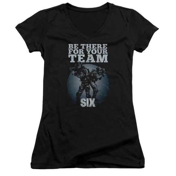 Six Team Junior V Neck T-Shirt