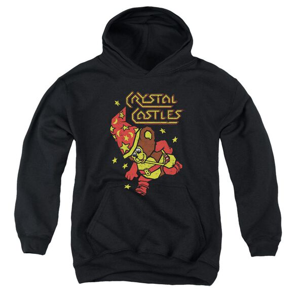 Atari Crystal Bear Youth Pull Over Hoodie