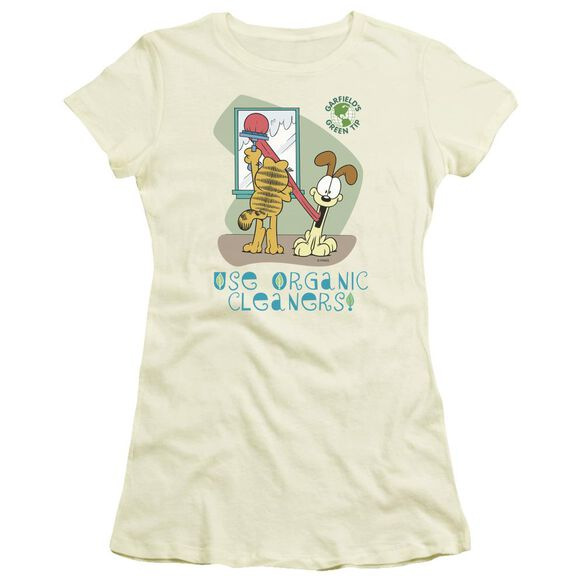 Garfield Organic Cleaners Short Sleeve Junior Sheer T-Shirt