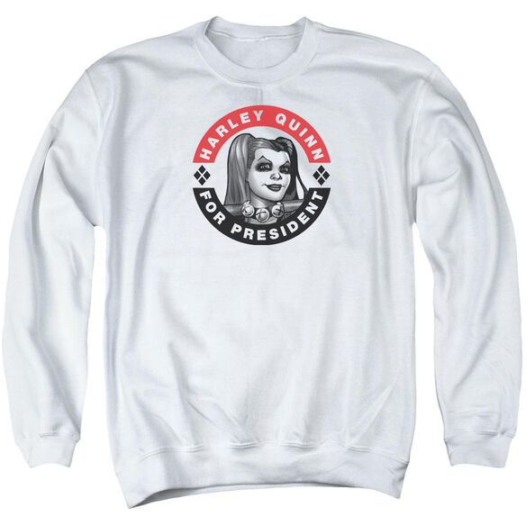 Batman Harley President Circle Adult Crewneck Sweatshirt