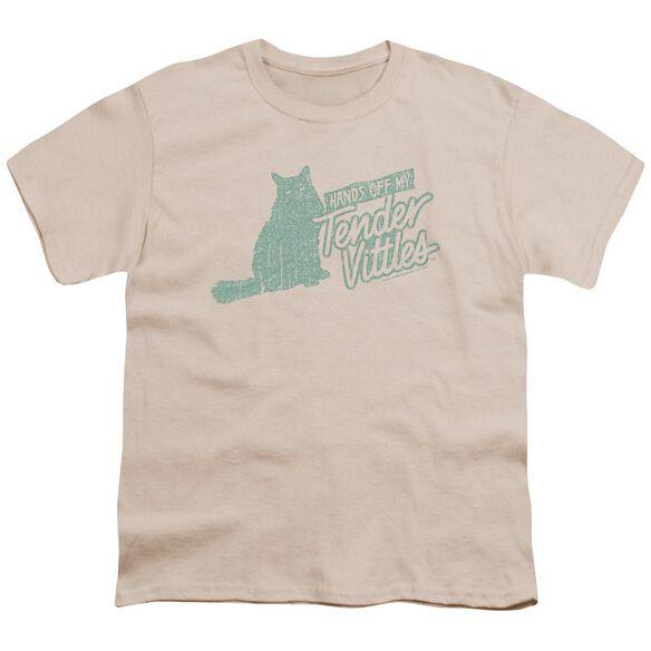 Tender Vittles Hands Off Short Sleeve Youth T-Shirt