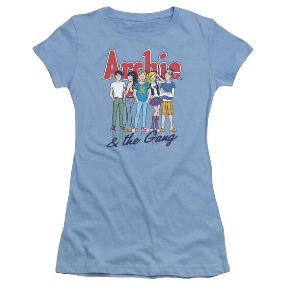 Archie Comics And The Gang Short Sleeve Junior Sheer Carolina T-Shirt