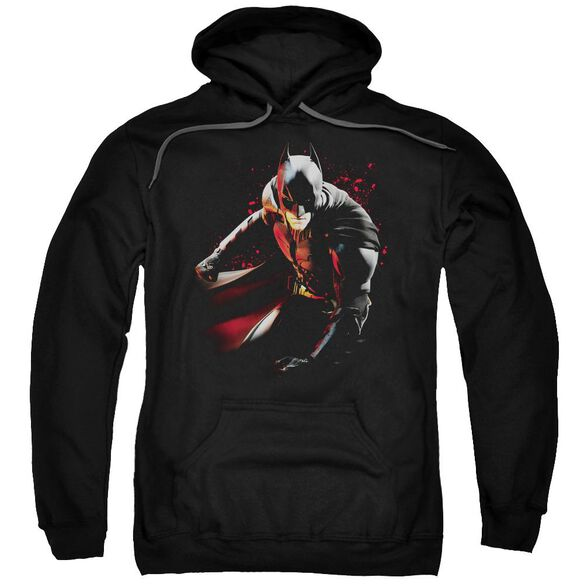 Dark Knight Rises Ready To Punch Adult Pull Over Hoodie