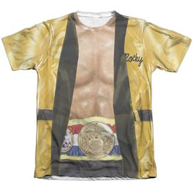 Rocky Yellow Robe Adult Poly Cotton Short Sleeve Tee T-Shirt