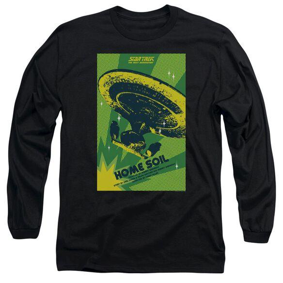 Star Trek Tng Season 1 Episode 18 Long Sleeve Adult T-Shirt