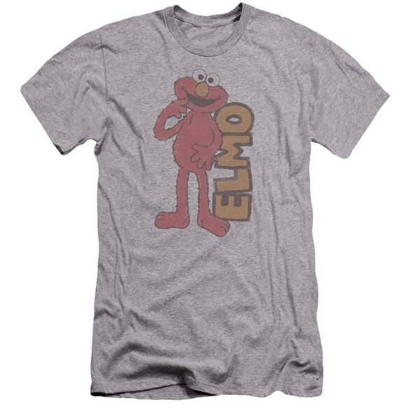 Sesame Street Vintage Elmo Premuim Canvas Adult Slim Fit Athletic