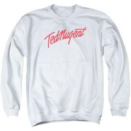 Ted Nugent Clean Logo Adult Crewneck Sweatshirt