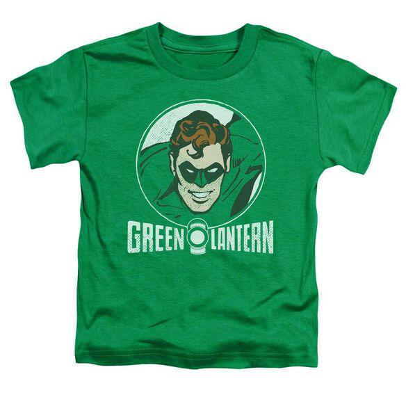 Dc Lantern Circle Short Sleeve Toddler Tee Kelly Green T-Shirt